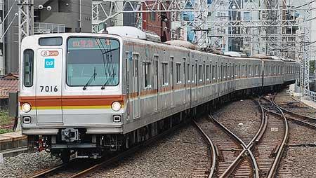 東京メトロ7000系が東横線・みなとみらい線で営業運転を開始