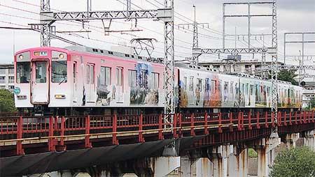 近鉄6620系に吉野線開業100周年ラッピング
