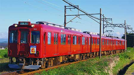 養老鉄道で愛称付列車の特殊系統板