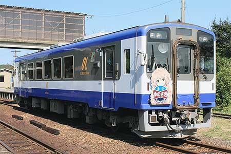 のと鉄道で団体臨時列車「急行ゆのさぎ」運転