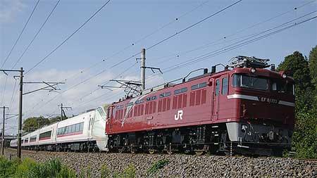 E657系K15編成が甲種輸送される