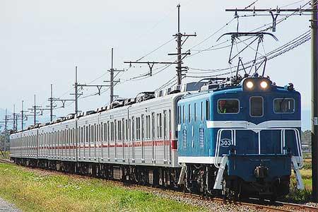東武10030系11032編成が南栗橋へ