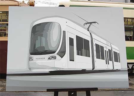 広島電鉄,新形超低床車両2編成を導入