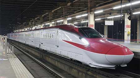 E6系量産車が初上京