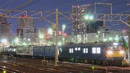 クロ157-1とクモヤ145-114が東京総合車両センターへ
