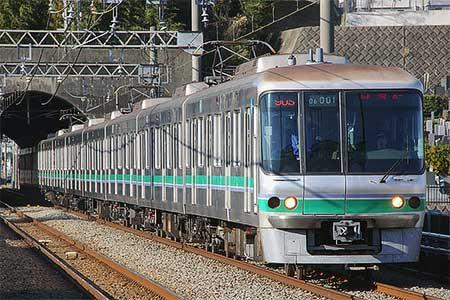 東京メトロ06系が小田急線内で試運転