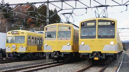 西武鉄道で『さよなら101系・301系イベント』開催