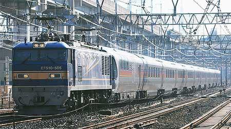 E26系が東北本線で試運転