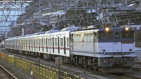京成電鉄3000形3026編成が甲種輸送される