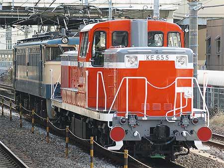 衣浦臨海鉄道KE65 5が大宮車両所から出場
