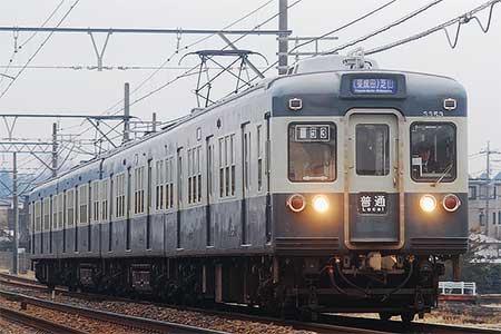 京成3300形青電塗装編成の営業運転終了