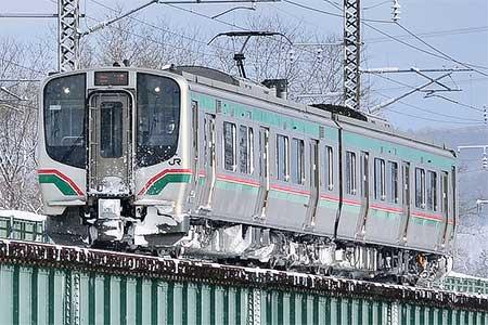 E721系が盛岡へ