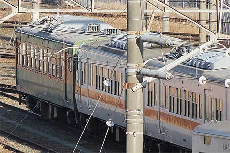 モハ164-72が浜松へ