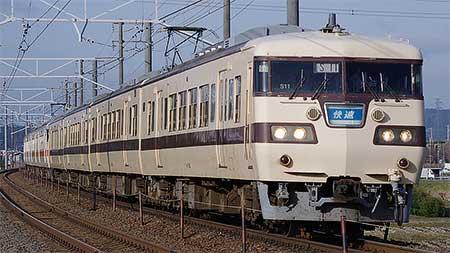 JR東海の117系が定期運用から離脱