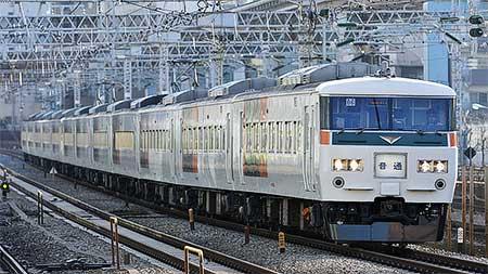 東海道本線の185系普通列車運用が終了