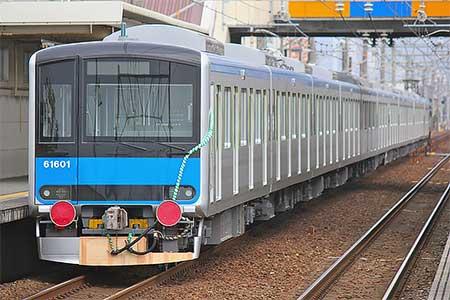 東武鉄道60000系が甲種輸送される