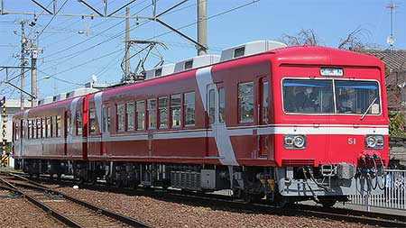 遠州鉄道30形が日中に運転される