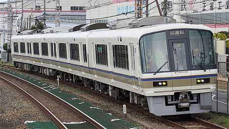 221系リニューアル車2編成目が試運転|鉄道ニュース|2013年3月26日 ...