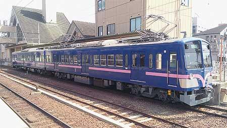 近江鉄道900形が試運転
