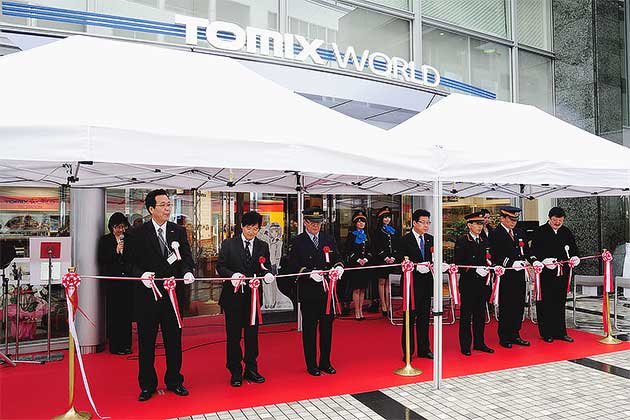 トミーテック常設ショールーム「TOMIX WORLD」がオープン