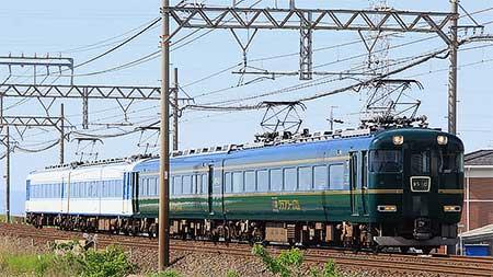 近鉄で「あおぞらⅡ」と「かぎろひ」の併結列車