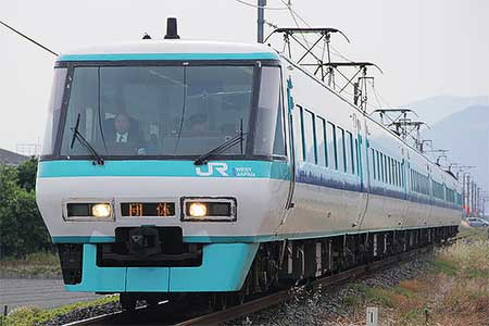 381系パノラマ編成が和歌山線に入線