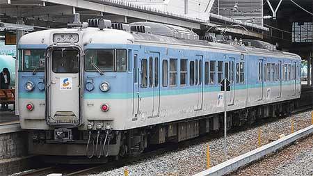 しなの鉄道で運用中の115系2連に変化