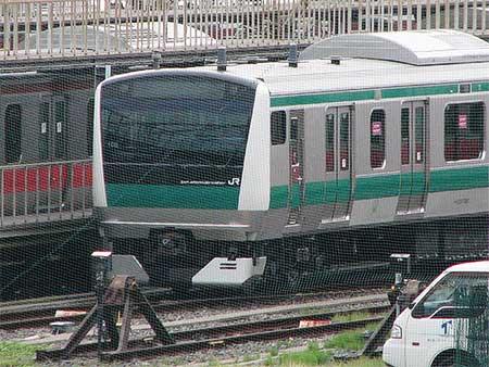 E233系7000番台ハエ106編成が京葉車両センターへ