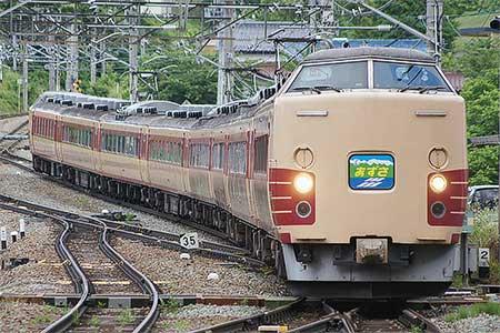 団体臨時列車「辰野経由長野行あずさ号」運転