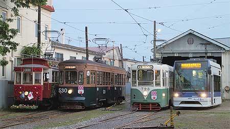 函館市で『路面電車開業100周年記念イベント』開催