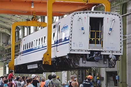 浜松工場で『新幹線なるほど発見デー』開催