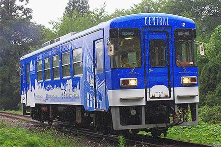 明知鉄道に2両目のラッピング車両が登場