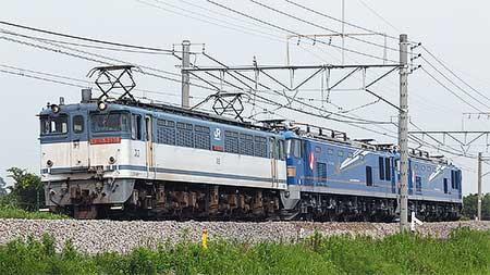 EF510形500番台2両がJR貨物高崎機関区へ