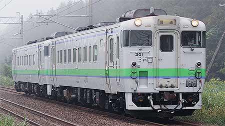 キハ40形300番台が函館本線の普通列車に