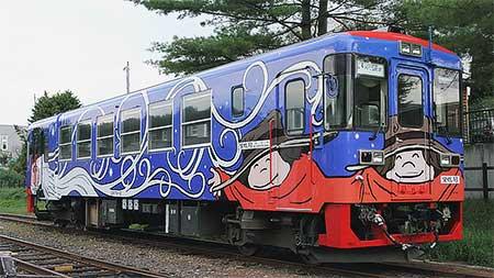 りくべつ鉄道CR75-3の塗装修繕実施