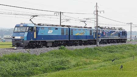 EF510-502が東新潟へ