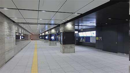東京メトロ東西線大手町駅がリニューアル