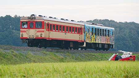 ひたちなか海浜鉄道キハ2005が島原鉄道ふうに小変化