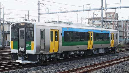 キハE130-106,幕張車両センターから木更津へ