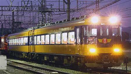 近鉄18400系が復刻塗装となって出場
