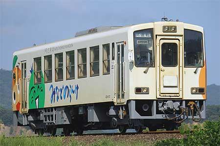 阿佐海岸鉄道ASA-301が重要部検...