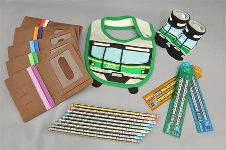 東京メトロオリジナル定規や鉛筆などを発売