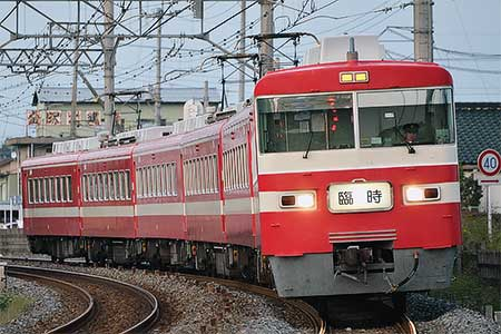 東武1800系による臨時快速列車運転