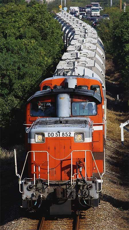 愛知機関区のDD51が再び武豊線・衣浦臨海鉄道に入線