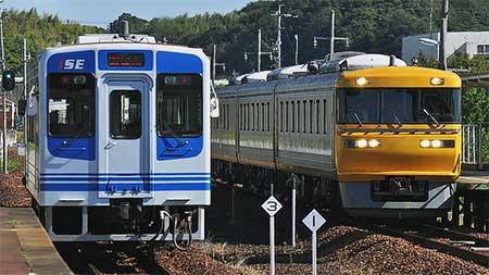 キヤ95系DR1編成が伊勢鉄道線に入線