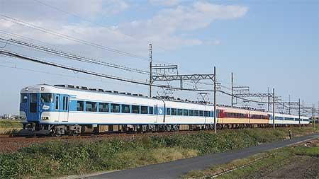 近鉄15200系が8連で運転される