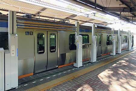 相鉄弥生台駅で昇降式ホームドアの実証試験