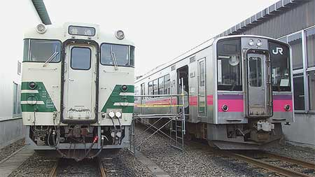 弘前運輸区の一般公開実施