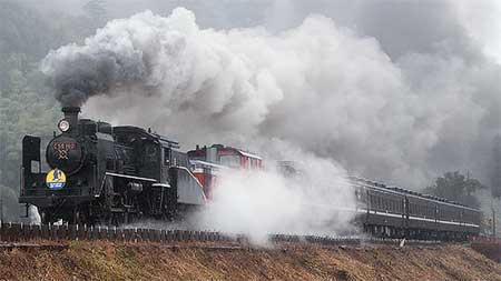 山口線で蒸機運転復活