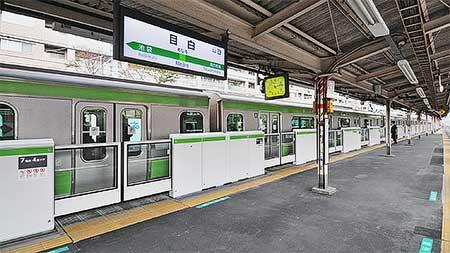 山手線目白駅で可動式ホーム柵の使用開始